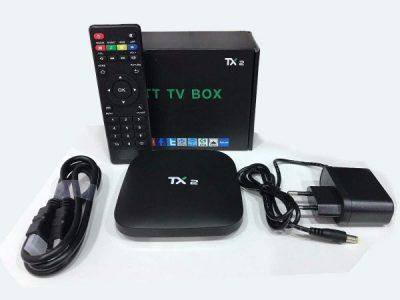 Tv box Tanix TX2 4K C/bluetooth 16GB memória RAM de 2GB