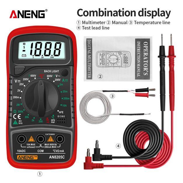 ANENG AN8205C Digital Multimeter