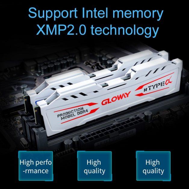 Memoria RAM DDR4  Gloway White 8GB 2666mhz