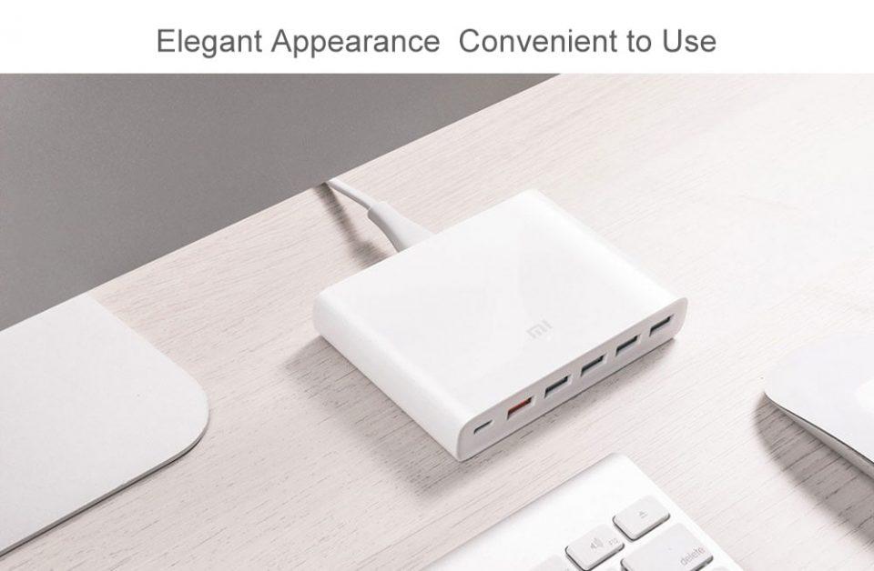 Xiaomi 5x USB-A 1x USB-C 60W QC3.0 Fast Charger