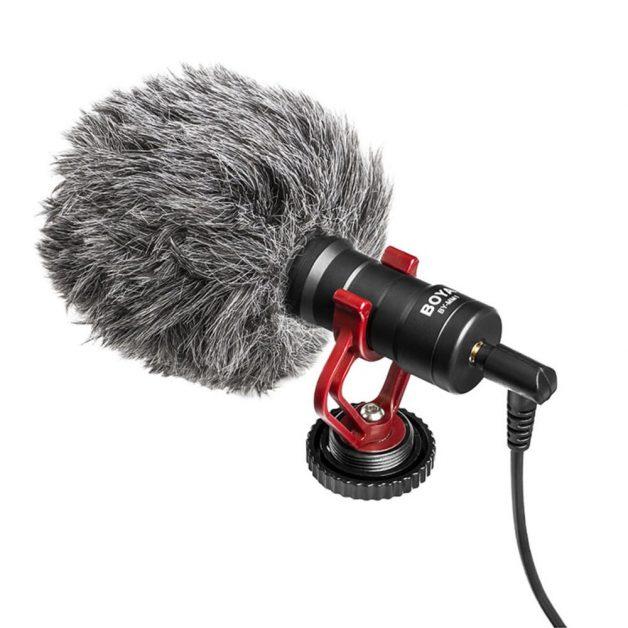 BOYA BY-MM1 Cardioid On-Camera Microphone