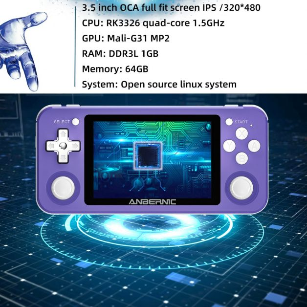 ANBERNIC RG351P 64GB Handheld Game Console