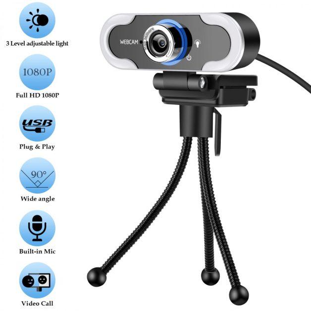 Xiaovv 1080P AutoFocus USB Webcam