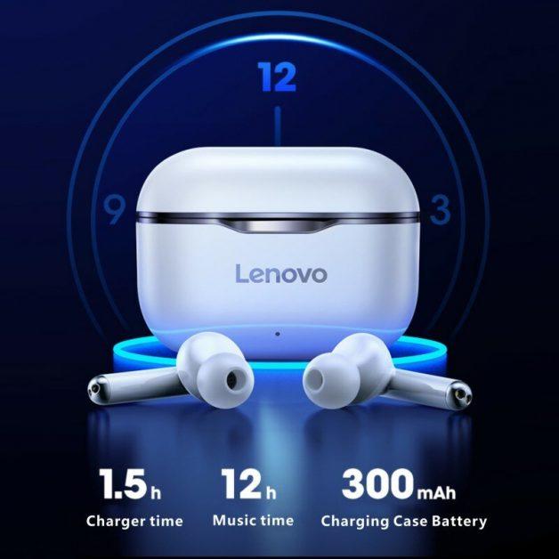 Fone de ouvido bluetooth Lenovo LP1 TWS