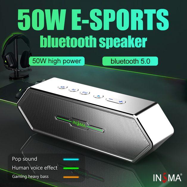 INSMA Aurora 50W TWS Bluetooth 5.0 Speaker