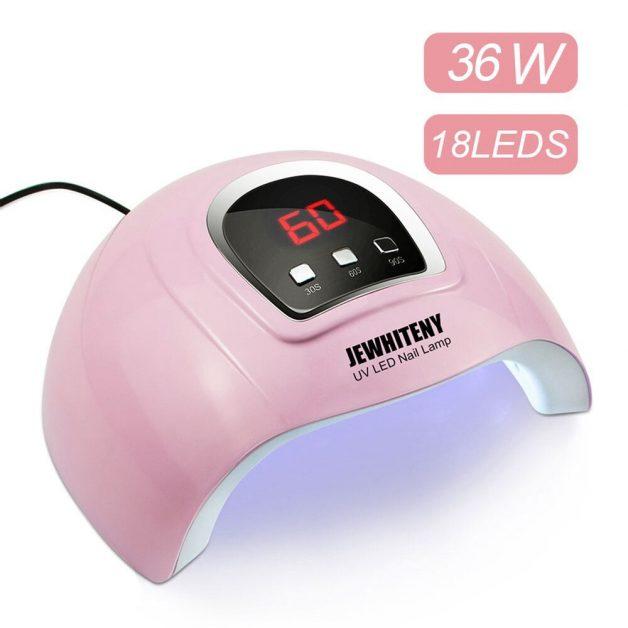 Secador UV SUNX Plus Lâmpada de Diodo 36W 18 Leds