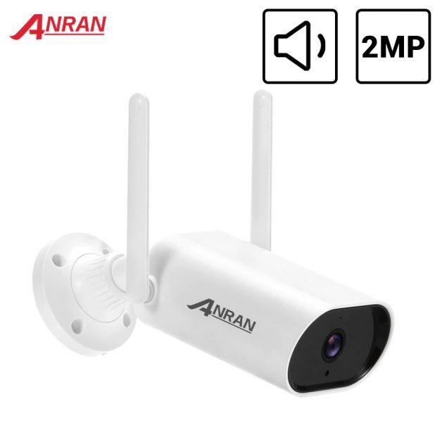 Camera Smart Outdoor ANRAN 1080P 2MP IP Wi Fi Security Camera 2MP Waterproof