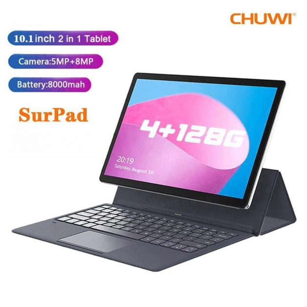 CHUWI SurPad 10.1 4G GPS Tablet With Keyboard -  4/128GB